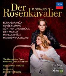 Richard Strauss (1864-1949): Der Rosenkavalier, Blu-ray Disc