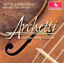 Pieter Hellendaal (1721-1799): Concerti grossi op.3 Nr.1, 2, 5, CD