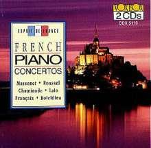 Französische Klavierkonzerte, 2 CDs