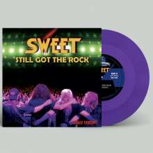 "The Sweet: Still Got The Rock/Fox On The Run (2020) (Limited Edition) (Purple Vinyl), Single 7"""