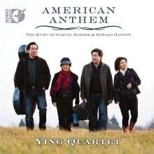 Samuel Barber (1910-1981): Ying Quartet - American Anthem, 1 CD und 1 Blu-ray Audio