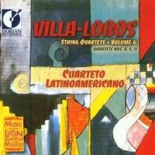 Heitor Villa-Lobos (1887-1959): Streichquartette Nr.4,9,11, CD