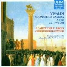 Antonio Vivaldi (1678-1741): Sonaten für 2 Violinen & Bc op.1 Nr.7-12, CD