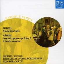 Georg Friedrich Händel (1685-1759): Concerto grosso op.6 Nr.6, CD