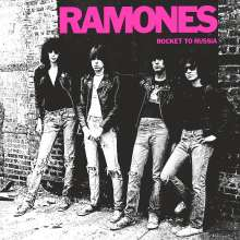 Ramones: Rocket To Russia (40th-Anniversary-Deluxe-Edition) (remastered) (Limited-Numbered-Edition), 1 LP und 3 CDs
