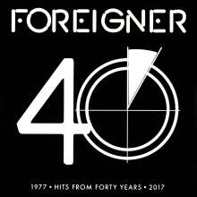 Foreigner: 40, 2 LPs