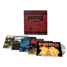 Pantera: The Complete Studio Albums 1990 - 2000, 5 CDs
