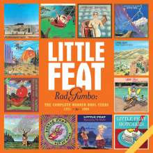 Little Feat: Rad Gumbo: The Complete Warner Bros. Years 1971 - 1990, 13 CDs