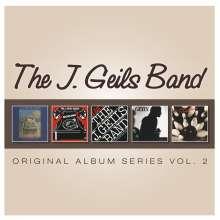 The J. Geils Band: Original Album Series Vol.2, 5 CDs