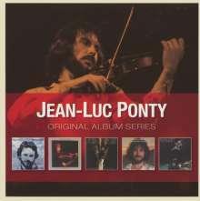 Jean-Luc Ponty (geb. 1942): Original Album Series, 5 CDs