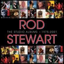 Rod Stewart: The Studio Albums 1975 - 2001 (Limited Edition Boxset), 14 CDs