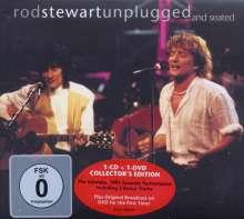 Rod Stewart: Unplugged...And Seated (CD + DVD), 1 CD und 1 DVD