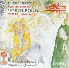 Frank Martin (1890-1974): Messe für 2 vierstimmige Chöre, CD