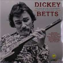Dickey Betts: Live From The Lone Star Roadhouse New York, NY November 1, 1988 (remastered) (Blue Vinyl), 2 LPs