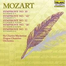 Wolfgang Amadeus Mozart (1756-1791): Symphonien Nr.10,12,13, CD