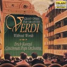 Giuseppe Verdi (1813-1901): Orchesterstücke - Verdi ohne Worte, CD