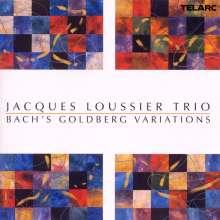Jacques Loussier (1934-2019): Bach's Goldberg Variations, CD