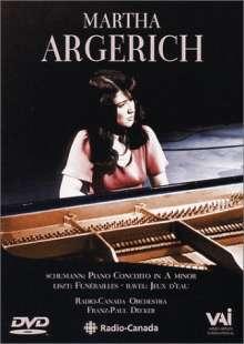 Martha Argerich - 1976, DVD
