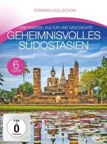 Geheimnisvolles Südostasien (Fernweh Collection), 6 DVDs