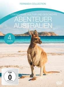 Abenteuer Australien (Fernweh Collection), 4 DVDs
