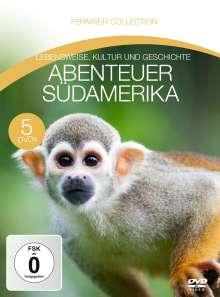 Abenteuer Südamerika (Fernweh Collection), 5 DVDs