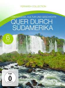 Quer durch Südamerika (Fernweh Collection), 6 DVDs