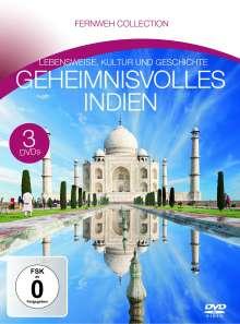 Geheimnisvolles Indien (Fernweh Collection), 3 DVDs