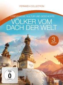Völker vom Dach der Welt (Fernweh Collection), 3 DVDs