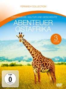 Abenteuer Ostafrika (Fernweh Collection), 3 DVDs