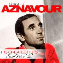 Charles Aznavour: Sur Ma Vie - His Greatest Hits, LP