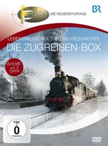 Die grosse Eisenbahn-Box, 3 DVDs