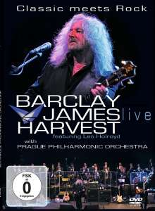 Barclay James Harvest: Classic Meets Rock: Live With Prague Philharmonic Orchestra, DVD