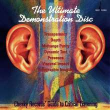 The Ultimate Demonstration Disc, CD