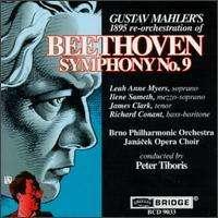 Ludwig van Beethoven (1770-1827): Symphonie Nr.9 (Orchestrierung v.Mahler), CD