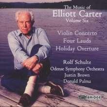Elliott Carter (1908-2012): Violinkonzert, CD