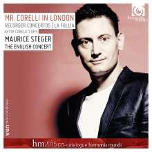 Arcangelo Corelli (1653-1713): Blockflötenkonzerte Nr.4,7,8,10 nach den Sonaten op.5 (mit harmonia mundi france-Katalog 2015), CD