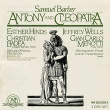 Samuel Barber (1910-1981): Antony and Cleopatra, 2 CDs