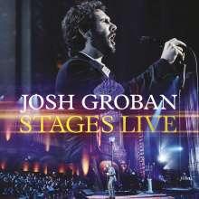 Josh Groban (geb. 1981): Musical: Stages Live, 1 CD und 1 DVD