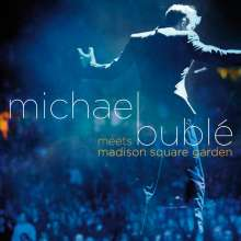 Michael Bublé (geb. 1975): Michael Bublé...Meets Madison Square Garden 2008 (DVD + CD Special Fan-Edition), 1 CD und 1 DVD
