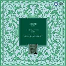Edward Elgar (1857-1934): Chorwerke - Die großen Oratorien (Adrian Boult), 6 CDs