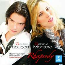 Gautier Capucon & Gabriela Montero - Werke für Cello & Klavier, CD