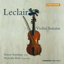Jean Marie Leclair (1697-1764): Sonaten für Violine & Bc, CD