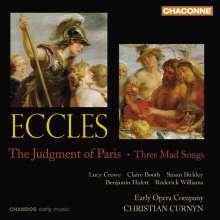 John Eccles (1668-1735): The Judgment of Paris, CD