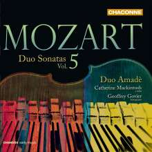 Wolfgang Amadeus Mozart (1756-1791): Sonaten für Violine & Klavier Vol.5, CD