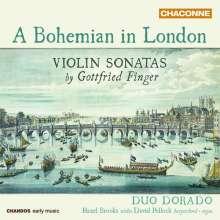 Gottfried Finger (1655-1730): Sonaten für Violine & Bc, CD