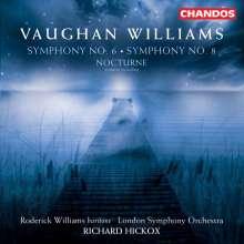 Ralph Vaughan Williams (1872-1958): Symphonien Nr.6 & 8, CD