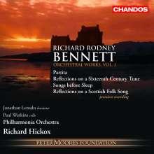 Richard Rodney Bennett (1936-2012): Orchesterwerke Vol.1, CD