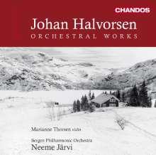 Johan Halvorsen (1864-1935): Orchesterwerke Vol.1, CD