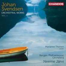 Johan Svendsen (1840-1911): Orchesterwerke Vol.1, CD