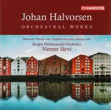 Johan Halvorsen (1864-1935): Orchesterwerke Vol.1-4, 4 CDs